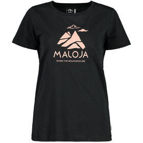 Maloja TurettaM. T-Shirt Donna, moonless